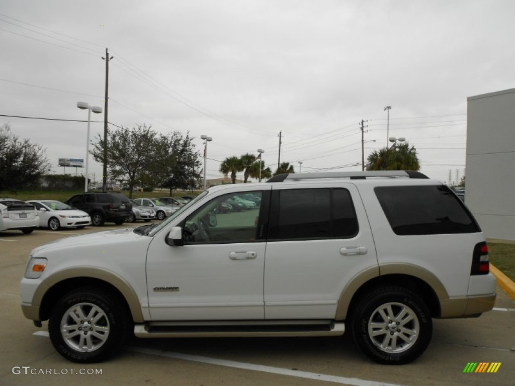 Oxford White 2006 Ford Explorer Eddie Bauer Exterior Photo