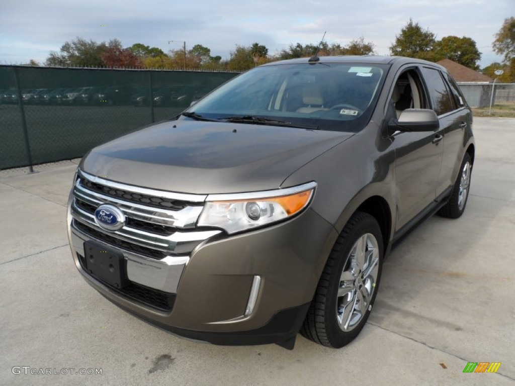 Mineral Grey Metallic 2012 Ford Edge Limited Ecoboost