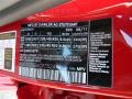 2012 GLK 350 Mars Red Color Code 590