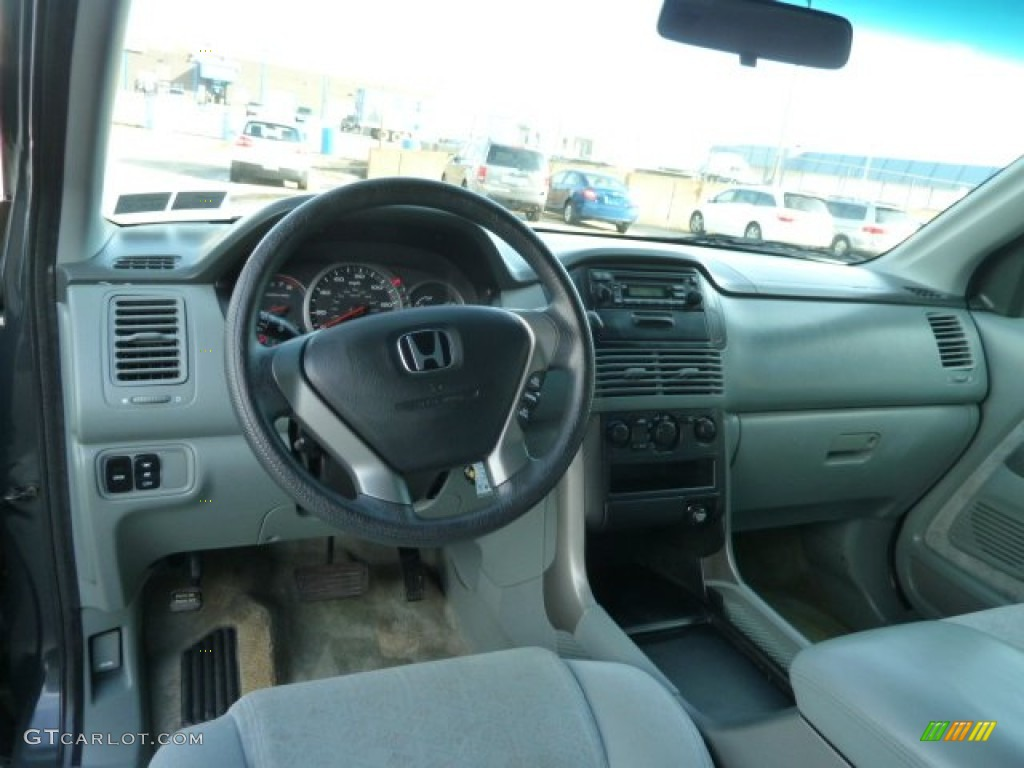 2003 honda pilot lx 4wd gray dashboard photo 57741806. Black Bedroom Furniture Sets. Home Design Ideas