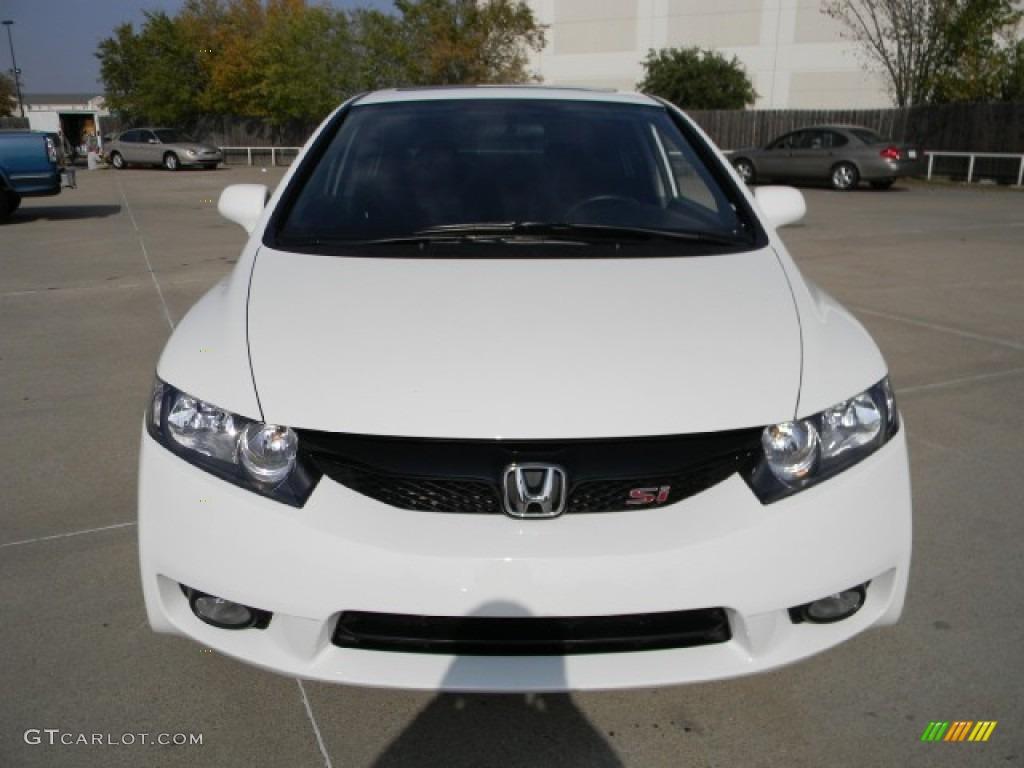 Taffeta White 2011 Honda Civic Si Sedan Exterior Photo 57748565