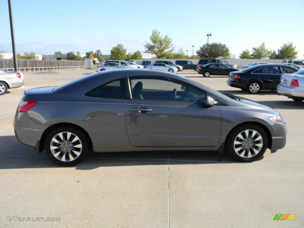 polished metal metallic 2009 honda civic ex l coupe exterior photo 57752051 gtcarlot