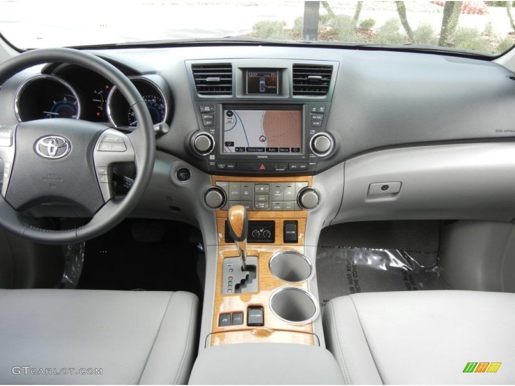 2009 Toyota Highlander Hybrid Limited 4wd Ash Dashboard
