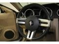Medium Parchment Steering Wheel Photo for 2005 Ford Mustang #57777801