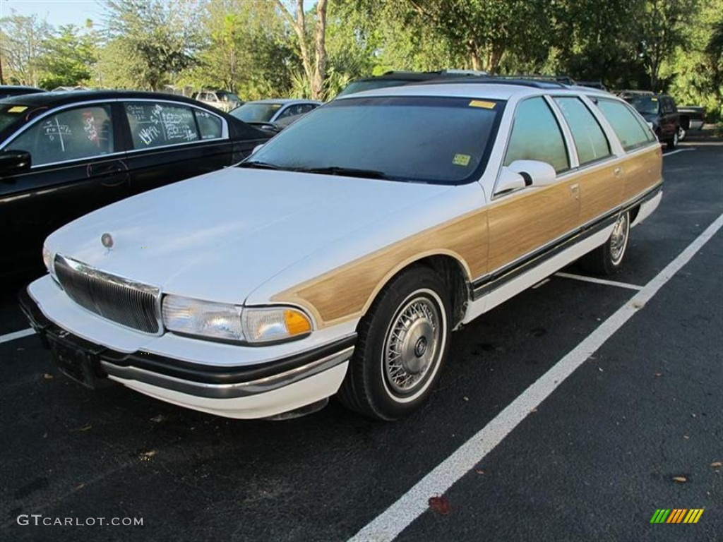 bright white 1996 buick roadmaster estate wagon exterior. Black Bedroom Furniture Sets. Home Design Ideas