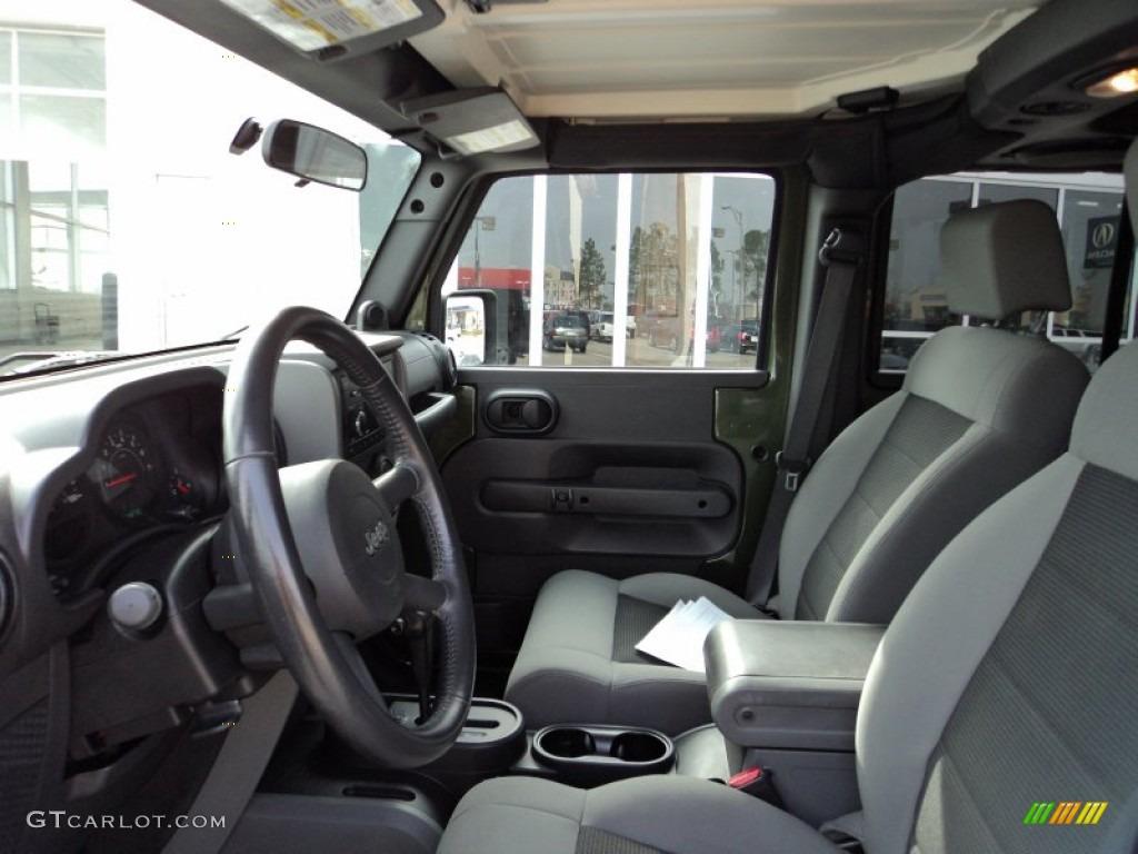 2008 Jeep Green Metallic Jeep Wrangler Unlimited X 57696021 Photo 15 Car