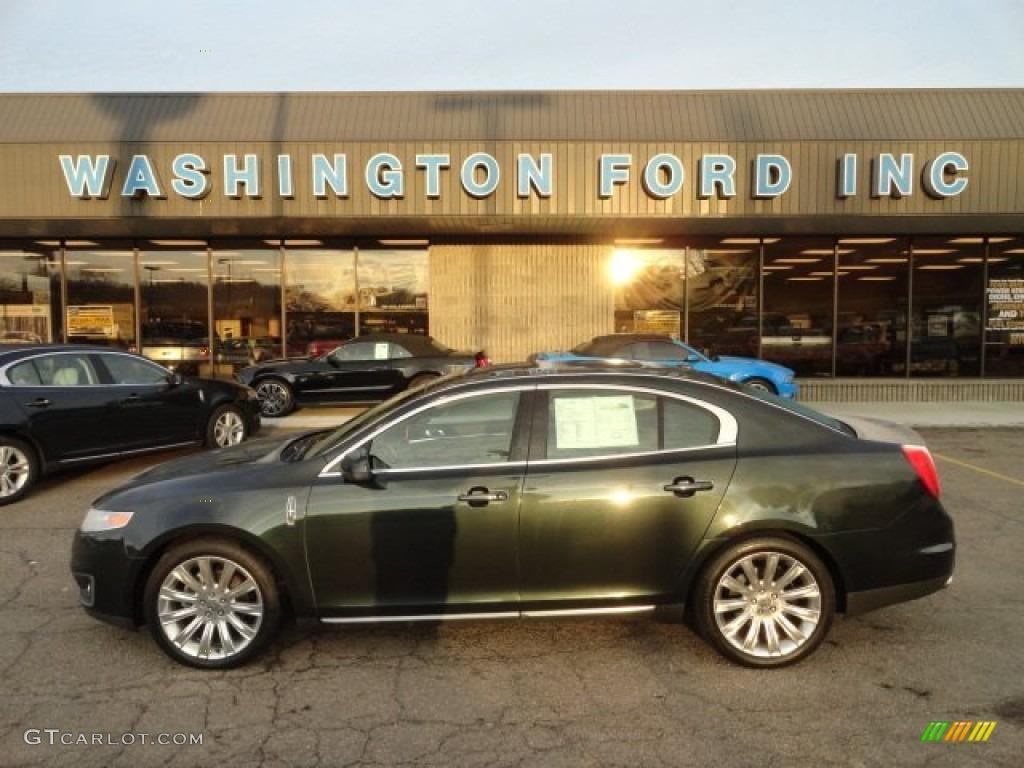 2010 Atlantis Green Metallic Lincoln MKS EcoBoost AWD #57695995 ...