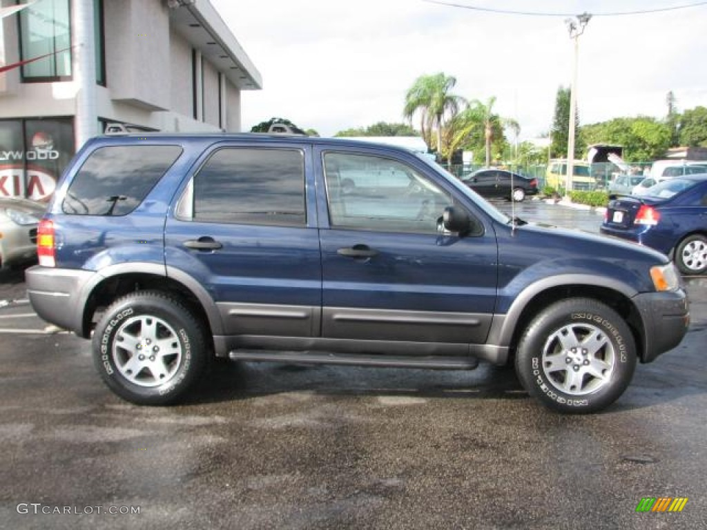 true blue metallic 2003 ford escape xlt v6 4wd exterior. Black Bedroom Furniture Sets. Home Design Ideas