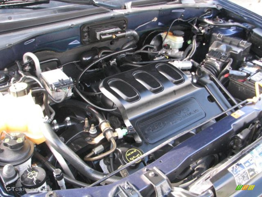 ford escape 3 0 dohc v6 engine diagram 2003 ford escape xlt v6 4wd 3.0 liter dohc 24-valve v6 ...