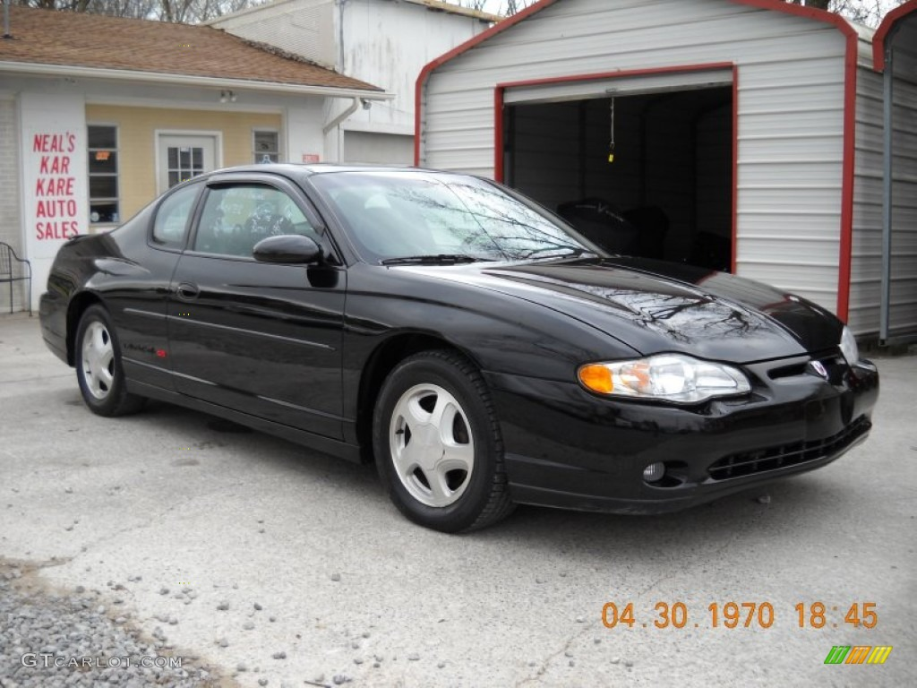 black 2001 chevrolet monte carlo ss exterior photo. Black Bedroom Furniture Sets. Home Design Ideas