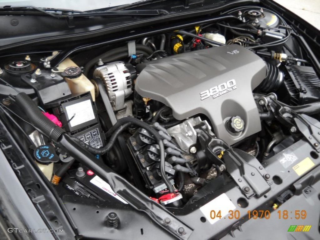 on 2003 Chevy Monte Carlo Ss Engine