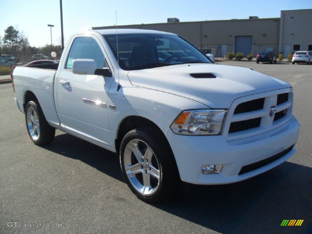 2012 bright white dodge ram 1500 sport r t regular cab 57788304 photo 5 car. Black Bedroom Furniture Sets. Home Design Ideas
