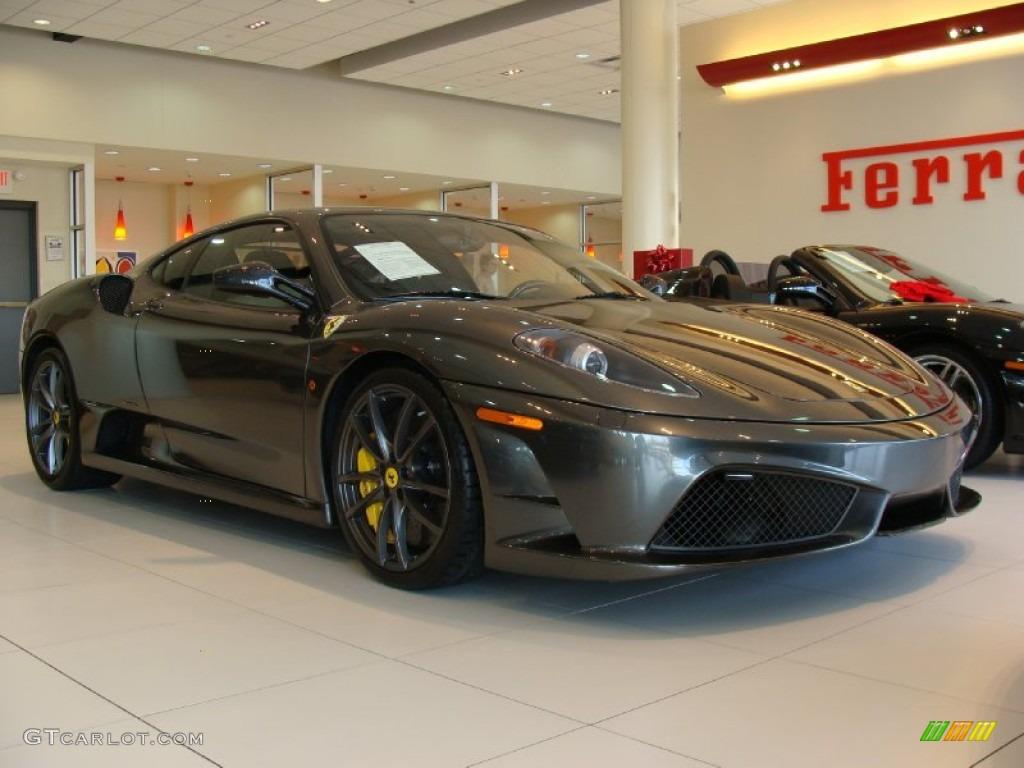 Ferrari grigio silverstone paint code