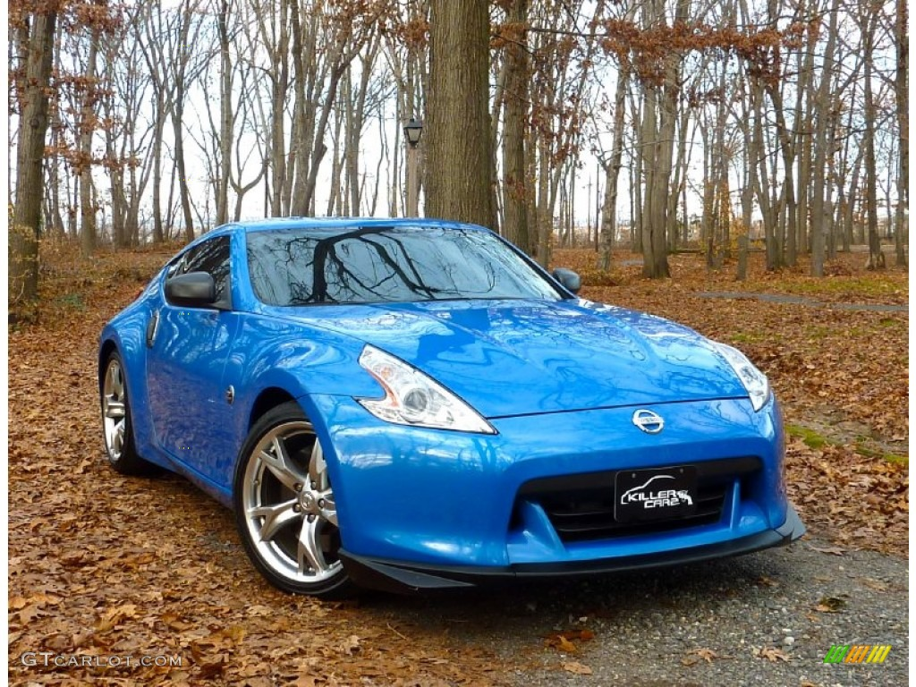 2009 monterey blue nissan 370z sport touring coupe 57788284 car color galleries - Nissan 370z touring coupe ...