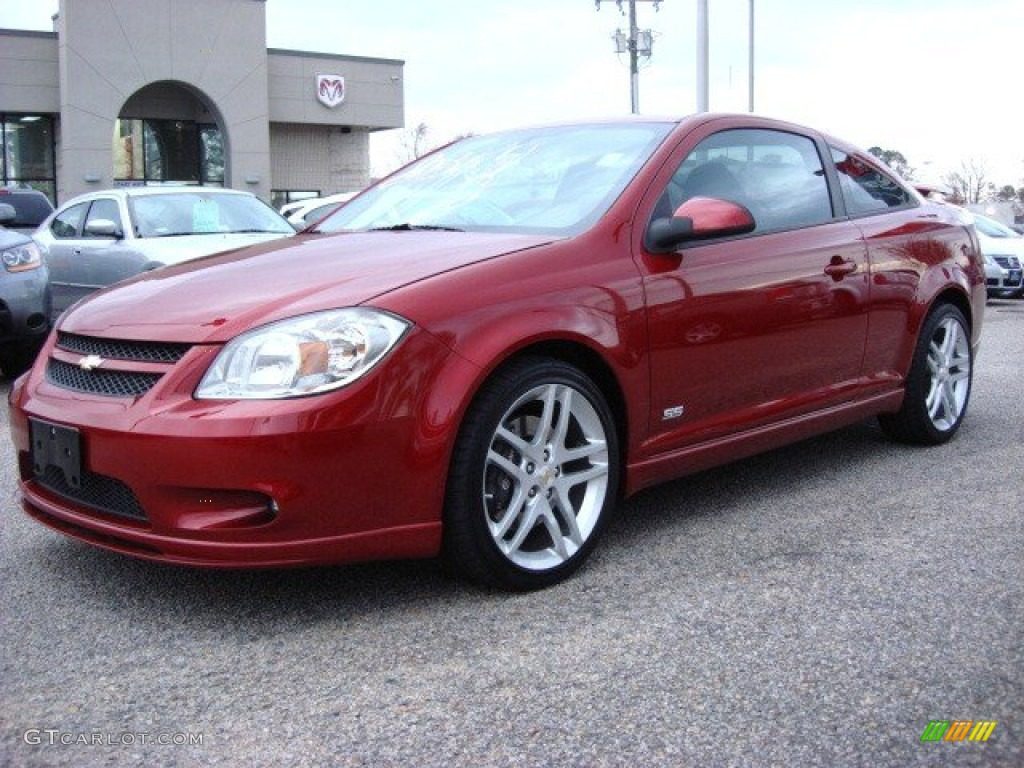 Crystal Red Tintcoat Metallic 2010 Chevrolet Cobalt SS Coupe Exterior Photo #57811289
