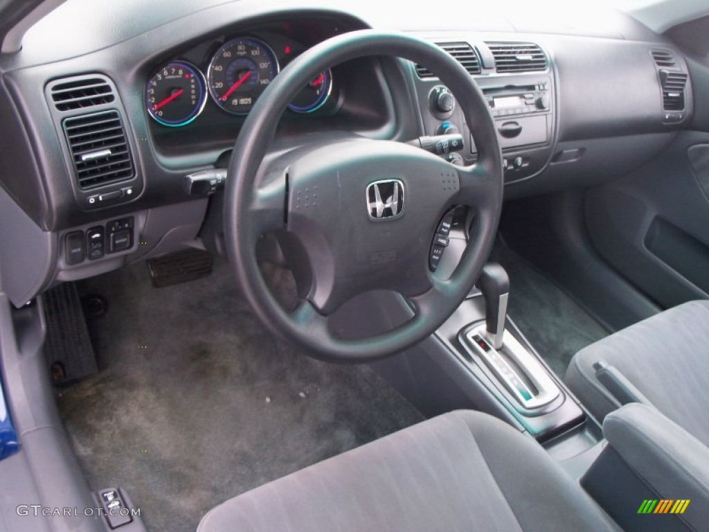 Gray Interior 2003 Honda Civic EX Sedan Photo #57812702 ...