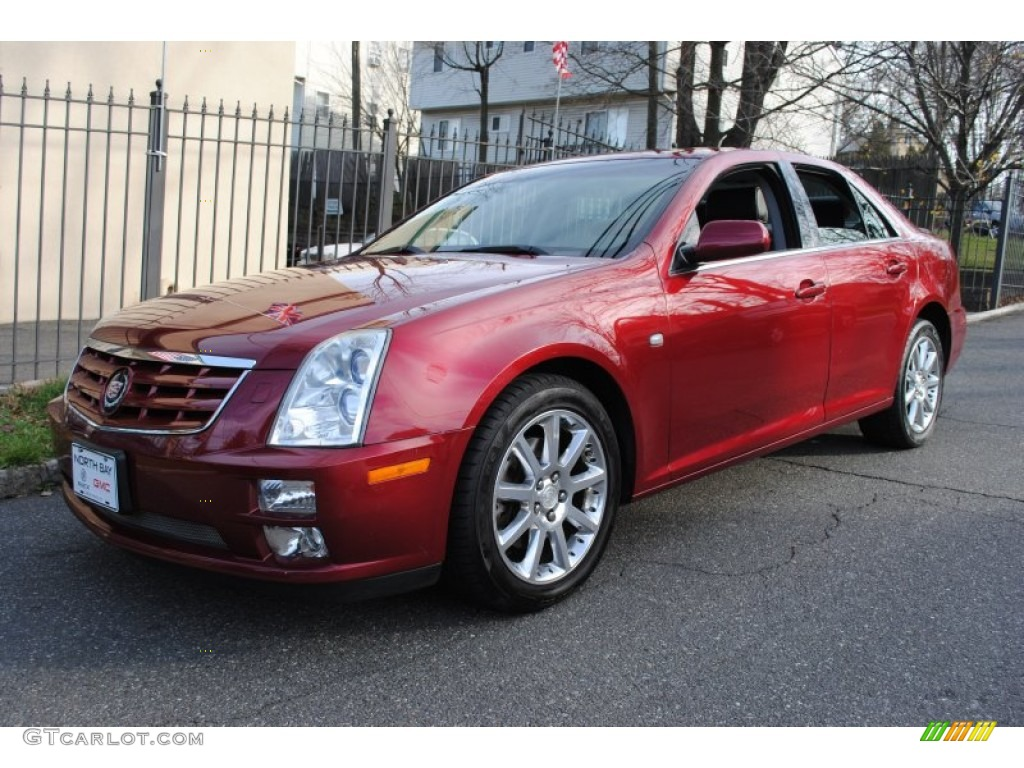 Red line cadillac sts