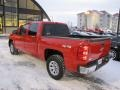 2009 Victory Red Chevrolet Silverado 1500 LT Crew Cab 4x4  photo #27