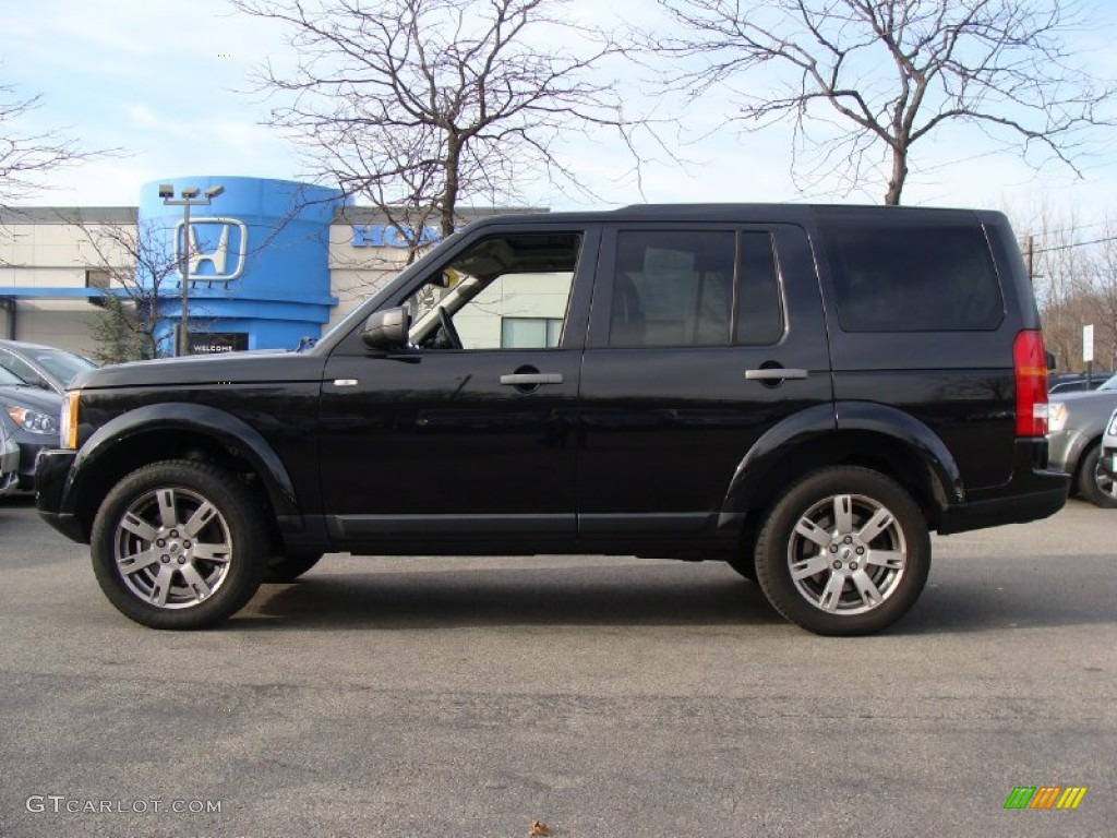 Santorini black metallic land rover lr3