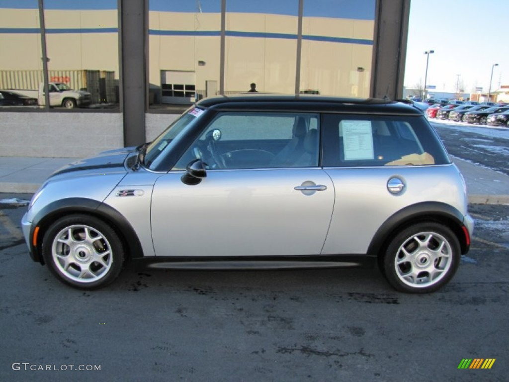 pure silver metallic 2002 mini cooper s hardtop exterior. Black Bedroom Furniture Sets. Home Design Ideas