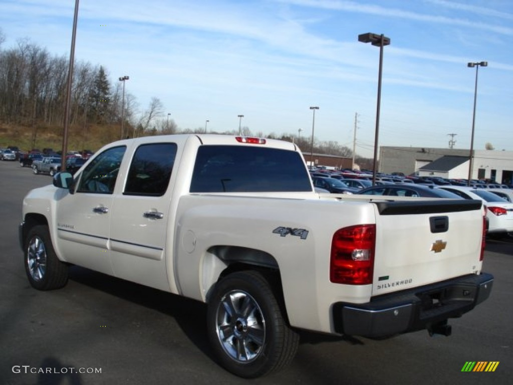 2012 Silverado 1500 LT Crew Cab 4x4 - White Diamond Tricoat / Ebony photo #6
