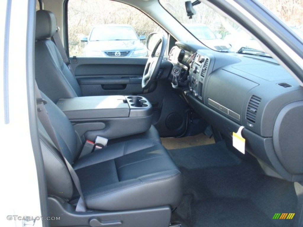 2012 Silverado 1500 LT Crew Cab 4x4 - White Diamond Tricoat / Ebony photo #16