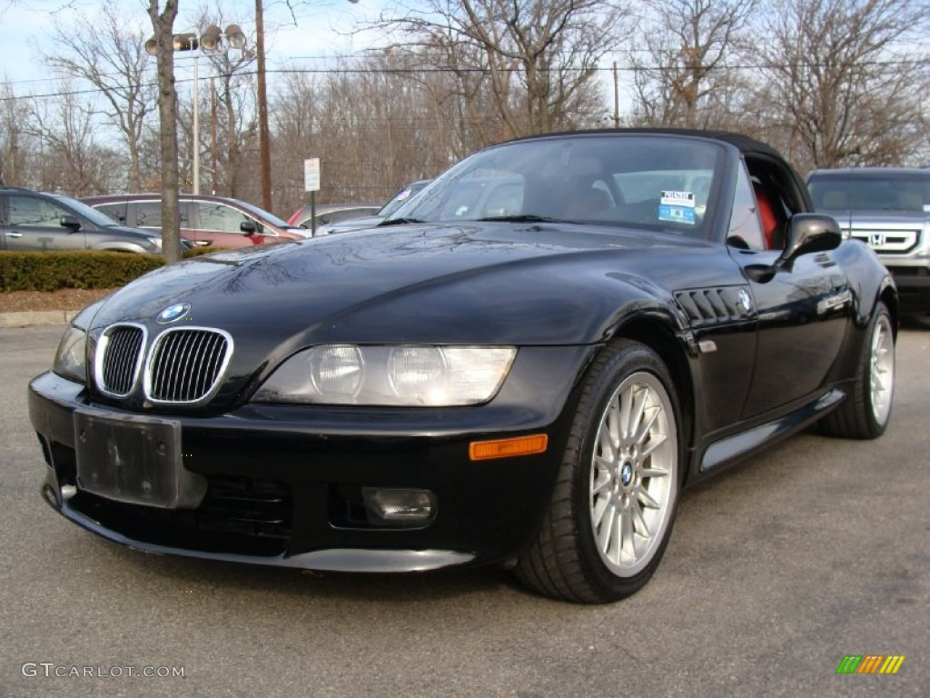 Jet Black 2001 Bmw Z3 3 0i Roadster Exterior Photo 57831617 Gtcarlot Com