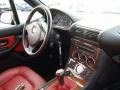 2001 BMW Z3 Tanin Red Interior Dashboard Photo