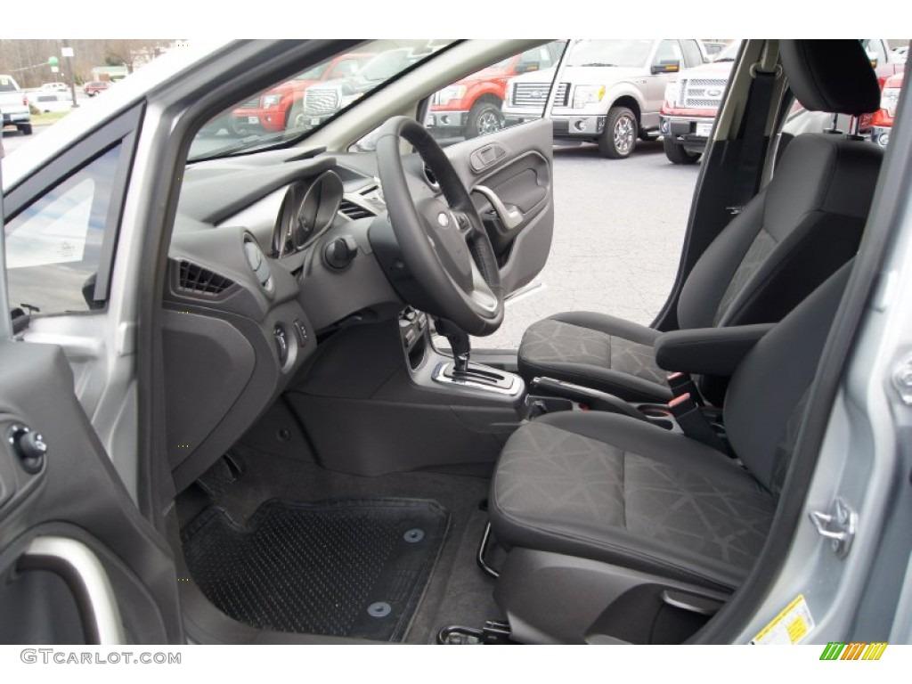 Charcoal Black Interior 2012 Ford Fiesta Ses Hatchback Photo 57836570