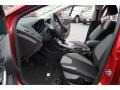 Charcoal Black 2012 Ford Focus SE Sport 5-Door Interior