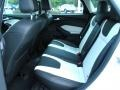 2012 White Platinum Tricoat Metallic Ford Focus Titanium 5-Door  photo #6