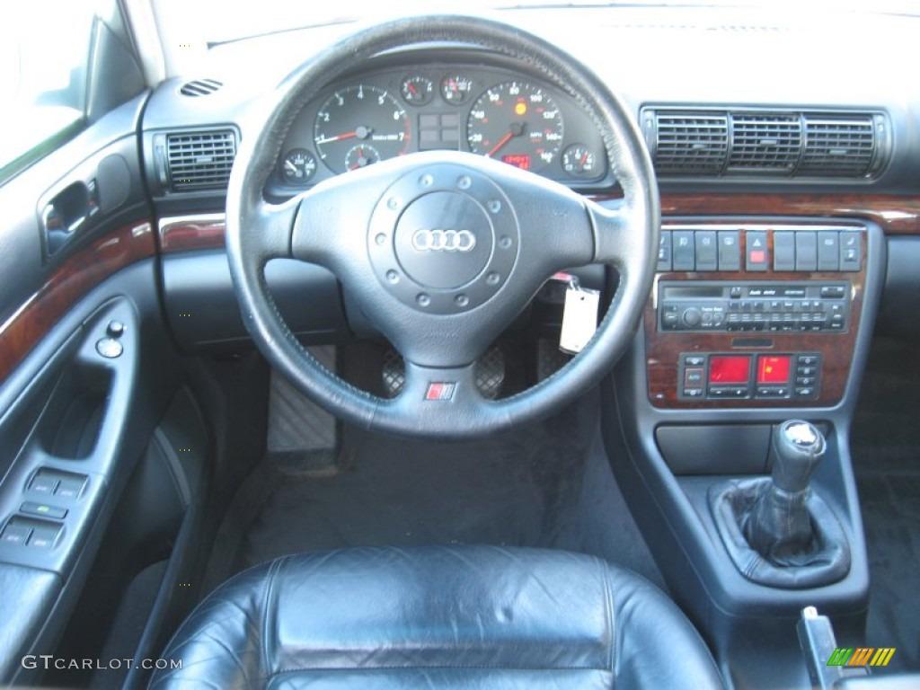 Audi A Sedan Onyx Black Dashboard Photo - 1998 audi a4