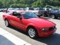 2007 Torch Red Ford Mustang V6 Deluxe Coupe  photo #4