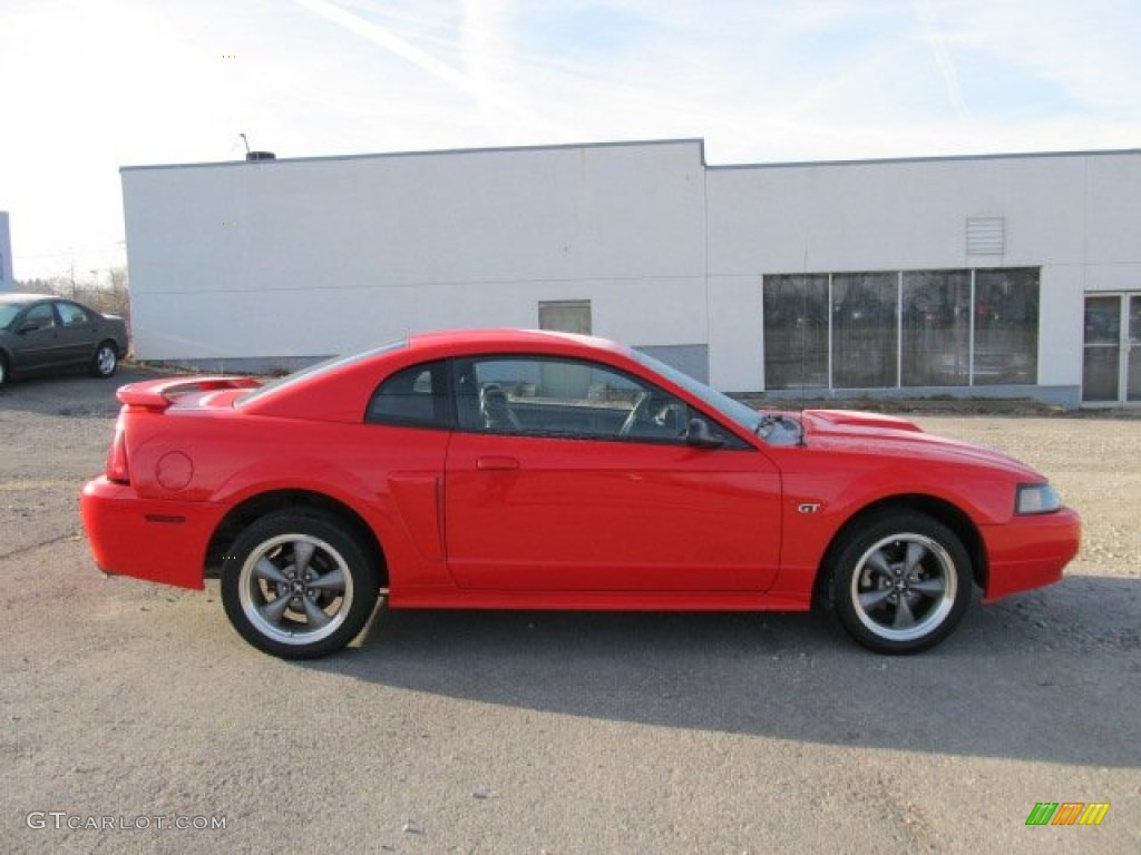 performance red 2001 ford mustang gt coupe exterior photo. Black Bedroom Furniture Sets. Home Design Ideas