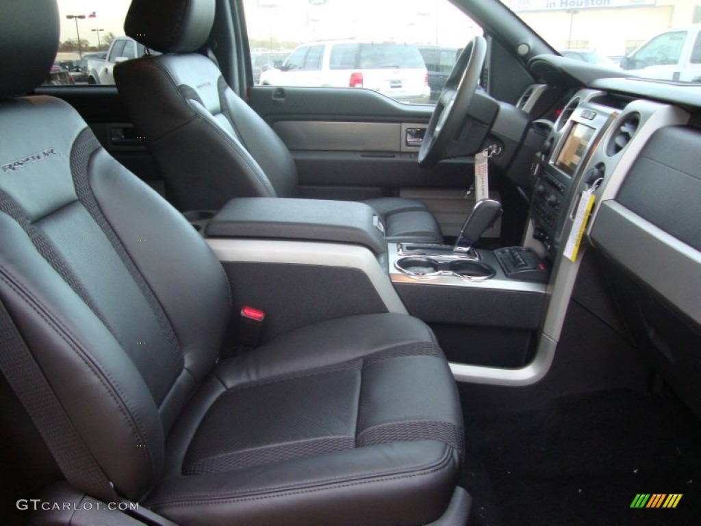 raptor black leathercloth interior 2012 ford f150 svt raptor supercrew 4x4 photo 57856328