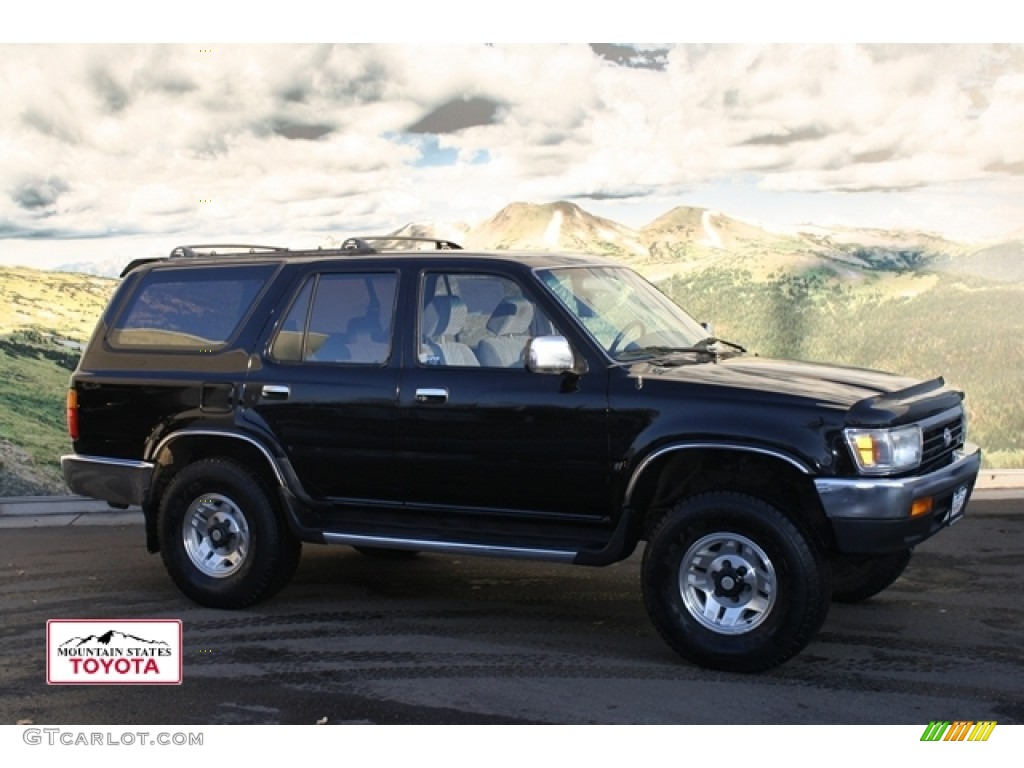 1995 black toyota 4runner sr5 v6 4x4 57822953 car color galleries. Black Bedroom Furniture Sets. Home Design Ideas