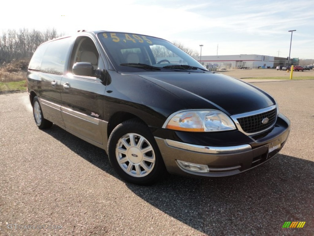 2002 black ford windstar limited 57822931 gtcarlot com car color galleries gtcarlot com