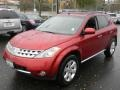 2007 Sunset Red Pearl Metallic Nissan Murano SL AWD  photo #1