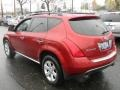 2007 Sunset Red Pearl Metallic Nissan Murano SL AWD  photo #4