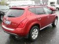 2007 Sunset Red Pearl Metallic Nissan Murano SL AWD  photo #5