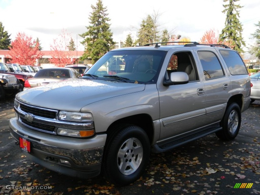 Silver birch metallic chevrolet tahoe