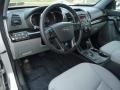 2011 Bright Silver Kia Sorento LX V6 AWD  photo #11
