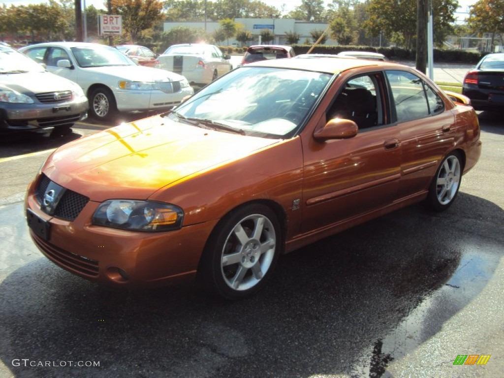 2006 Nissan Sentra Se R Spec V >> 2006 Volcanic Orange Nissan Sentra Se R Spec V 57875570