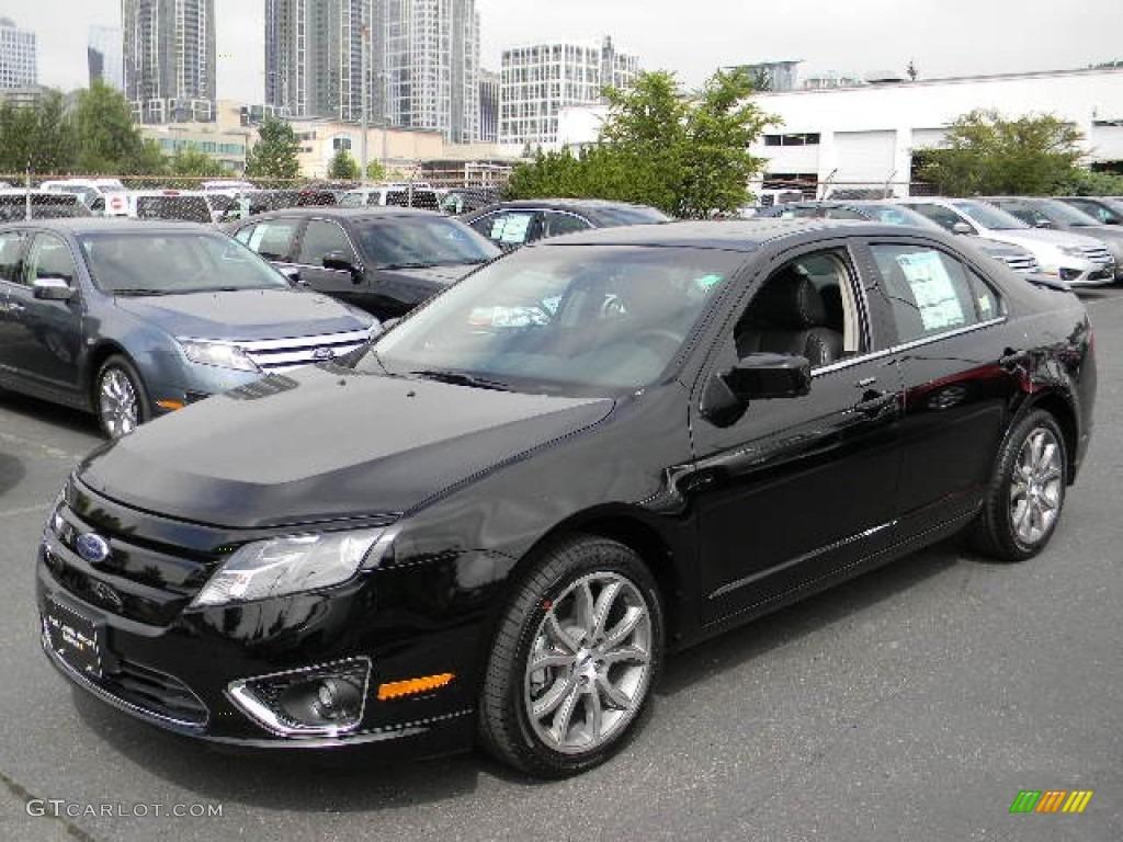 2012 black ford fusion sel v6 57873718 car color galleries. Black Bedroom Furniture Sets. Home Design Ideas