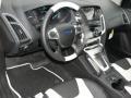 2012 Tuxedo Black Metallic Ford Focus Titanium Sedan  photo #6
