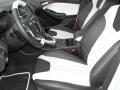2012 White Platinum Tricoat Metallic Ford Focus Titanium 5-Door  photo #7