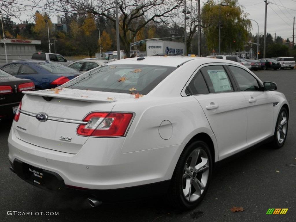 2012 white platinum tri coat ford taurus sho awd 57873686 photo 5 car color. Black Bedroom Furniture Sets. Home Design Ideas