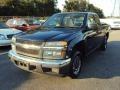 Indigo Blue Metallic 2004 Chevrolet Colorado Extended Cab