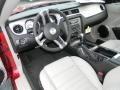 2011 Ford Mustang Stone Interior Prime Interior Photo