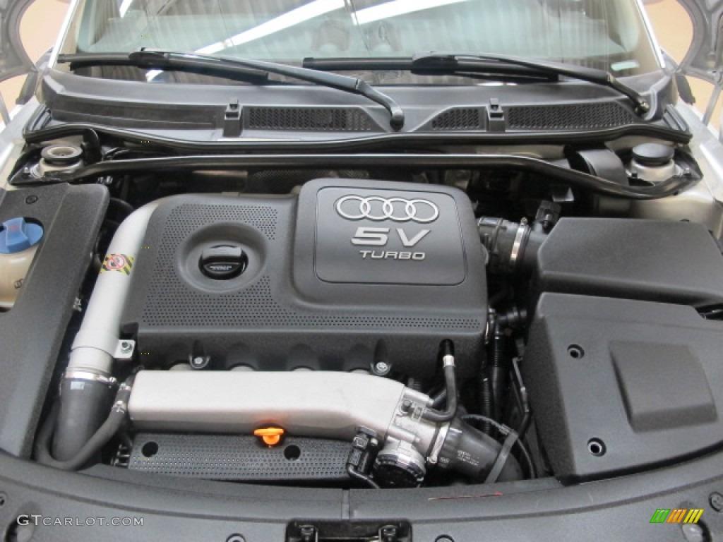 2002 Audi Tt 1 8t Quattro Roadster 1 8 Liter Turbocharged